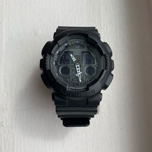 G Shock Men's Black Resin Watch, 55mm